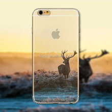 Natural Scenery Design Hard Back Case for iphone 6s Soft TPU bumper, mobile phone case, cell phone case for iphone 6s