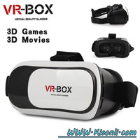 HOT!! HD VR BOX 2.0 Virtual Reality Glasses 3D VR Headsets Helmet with Bluetooth Remote
