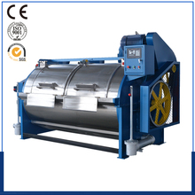 Raw wool cleaning machine