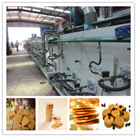 Overseas third-party support available After-sales Service Provided and New Condition mini biscuit making machine