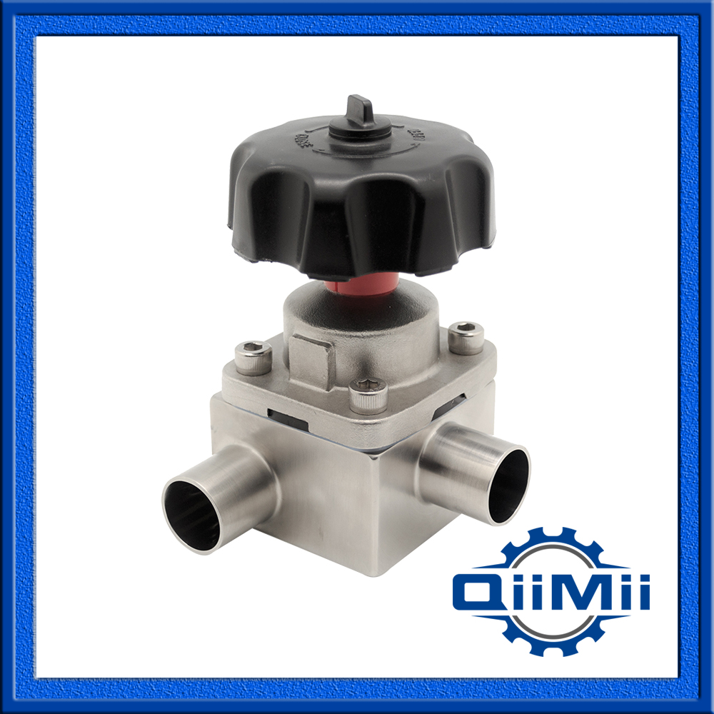 Stainless Steel Pharmaceutical Sanitary SS316L Aseptic Diaphragm Valve