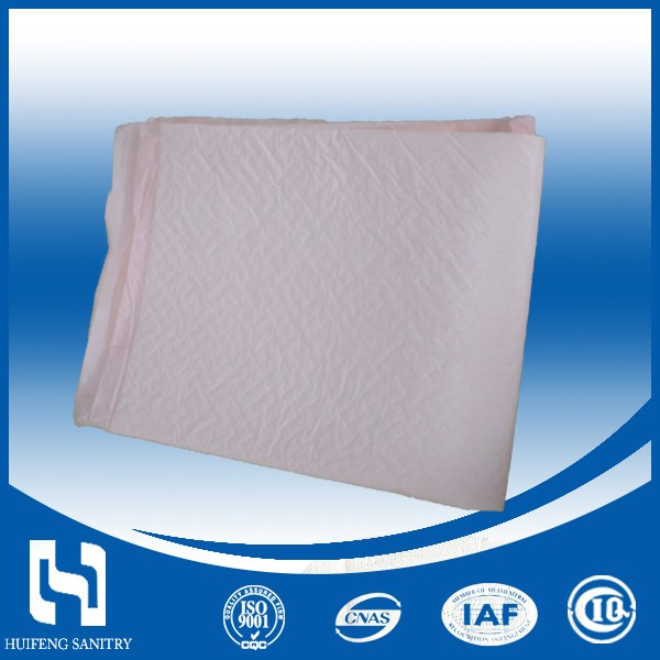 Super absorbent diaposable ultra thick cotton lady maternity pad with loop