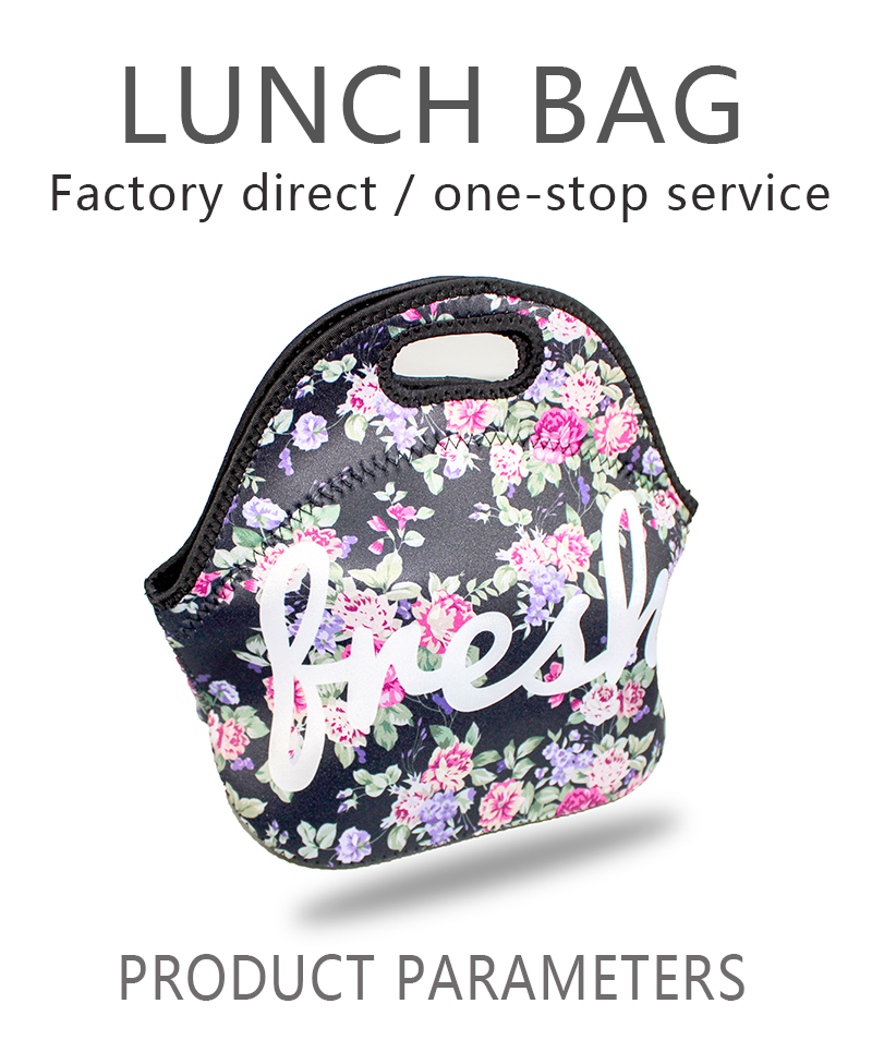 Customized Insulated Cooler Bag Small Lunch Box Bag