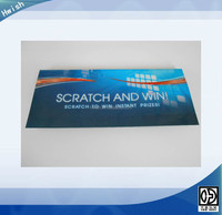 custom scratch off lottery ticket printing
