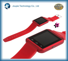 Joupie-U8 used cell phone watch with pedometer , wristwatch phone for birthday present