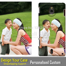 Creative Your Own Design Hard Plastic Printed Custom phone Case Cover for Sony Xperia MT27I sola
