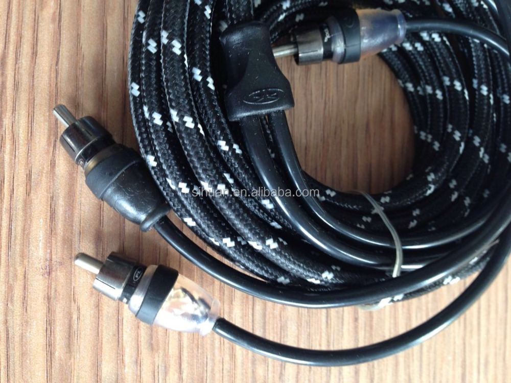 china factory low price 2rca to 2rca super quality rca cable