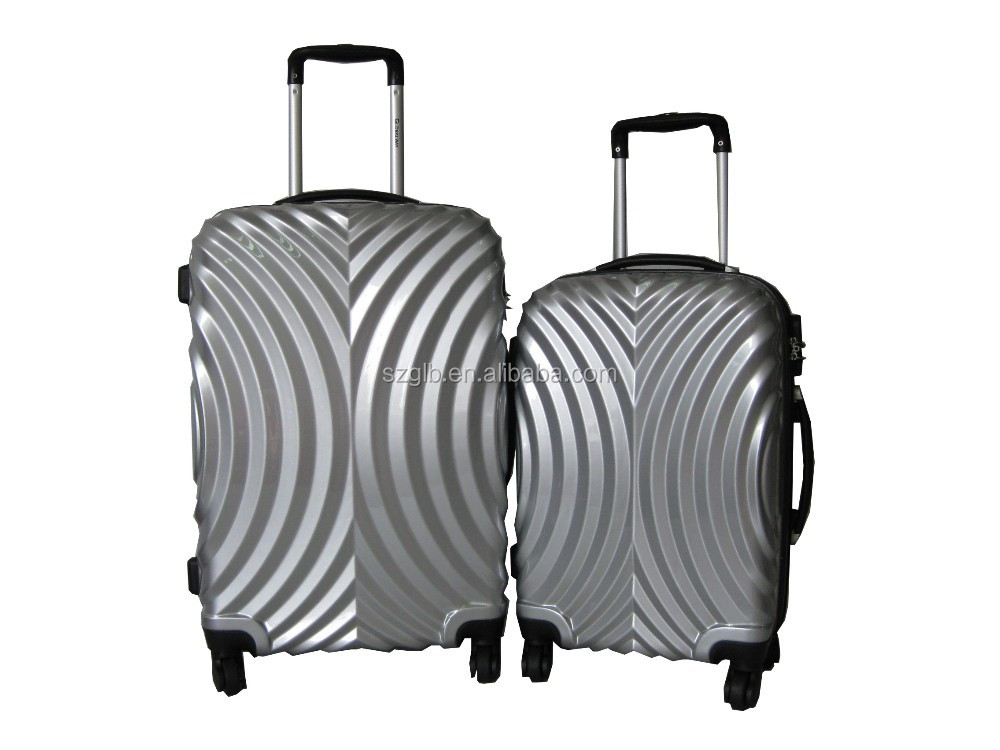 New style printing ABS+PC luggage