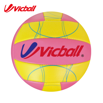 Official Size & Weight Foam PVC Material Machine Stitched Volleyball