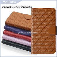 plain flip folio cover leather back case for lenovo a3000 for iphone 6s /6s plus
