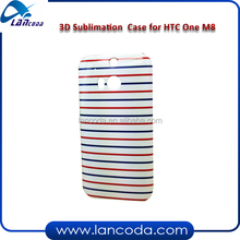 sublimation 3d case for HTC one M8