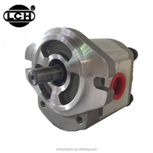 hydraulic screw gear pump for construction and agricultural machine