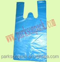 Eco-friendly T-shirt Plastic Bags Export To Japanese Market/produced As You Require