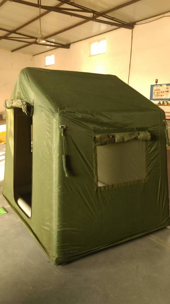 Waterproof polyester TPU steel ridged frame combat field Military tent