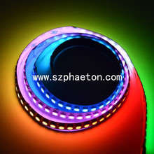 RGB dream color led strip with connector smd 5050 digital addressable rgb led strip 12v