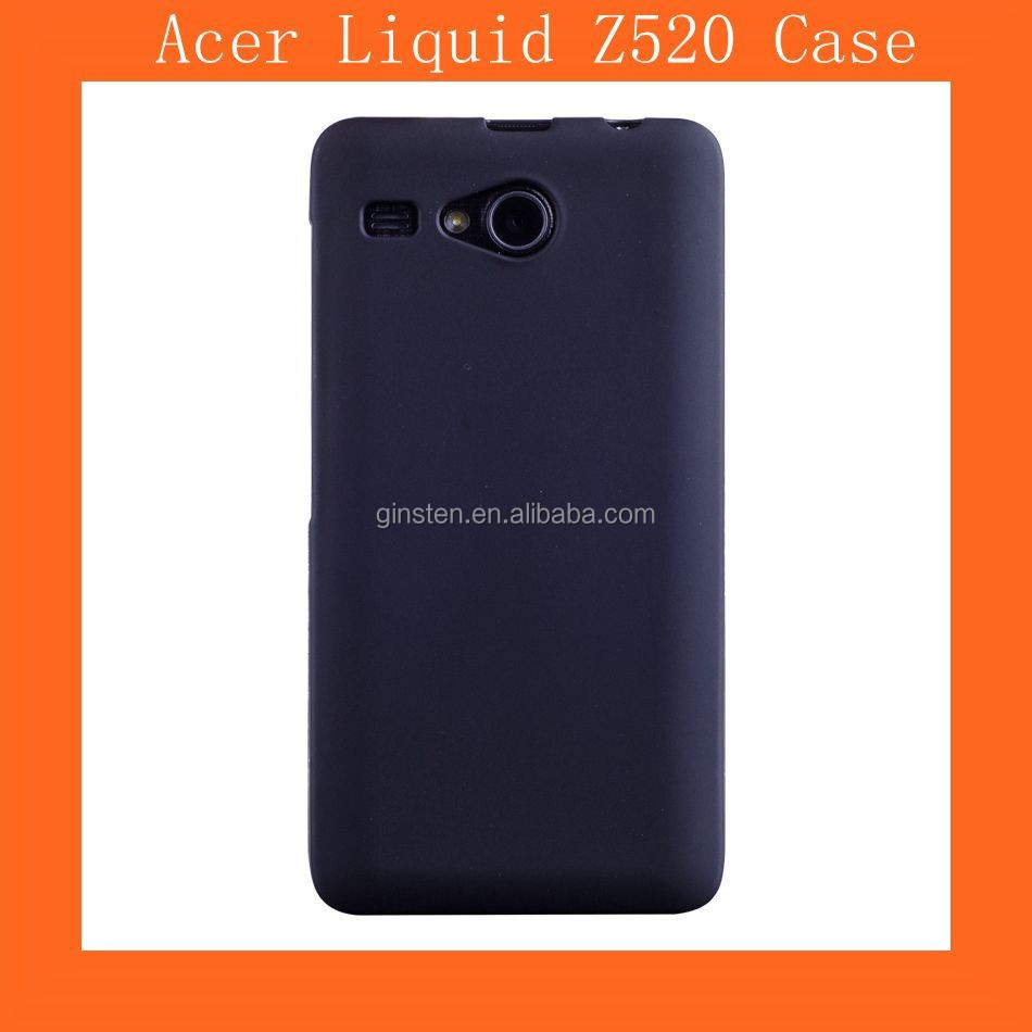Black TPU Case For Acer Liquid Z520 Case