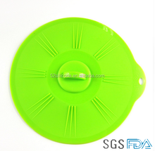 Portable waterproof Silicone rubber pan lid Silastic pot cover