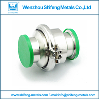 sanitary ss304 clamped check valve