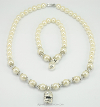 Joyas Collares Unisex White Bead China Imitation Jewellery