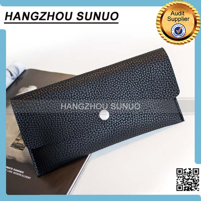 Waterproof Folding Pocket Leather Coin purse