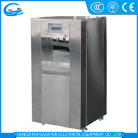 Stainless steel hot warm and cold air to water generator