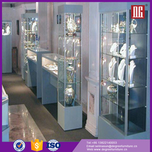Professional luxury jewelry display cabinet in china for the shops