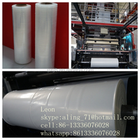 hot sale high quality plastic PE film for pallets packing wrap beverage colar water bottle