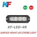 Surface mount LED strobe light , LED Strobe Lightheads (KF-LED-4R),with E-mark,ULTRATHIN SIZE,3W per LEDs