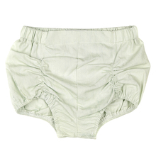 Hot Sale Baby Girl Flat Shorts Plain Color Bloomer 100% Cotton Ruffle Diaper Welcomed Style