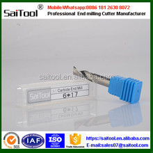single flute tungsten carbide milling cutter tool/pcb cutting tools