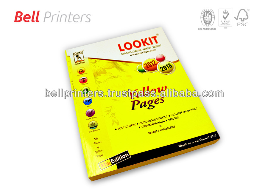 Yellow Pages printing