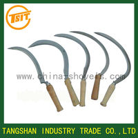Garden and agriculture harvest steel grass farming sickle