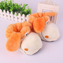Family Plush Slippers Cute dog Cosplay Shoes Warm Indoor Slippers Shoes