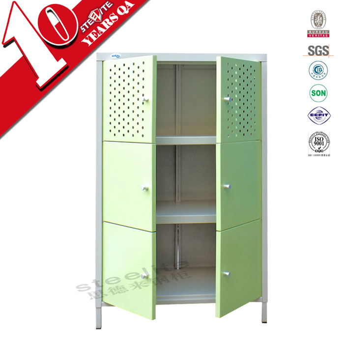 modern home steel kitchen furniture small kitchen cupboard with vent hole