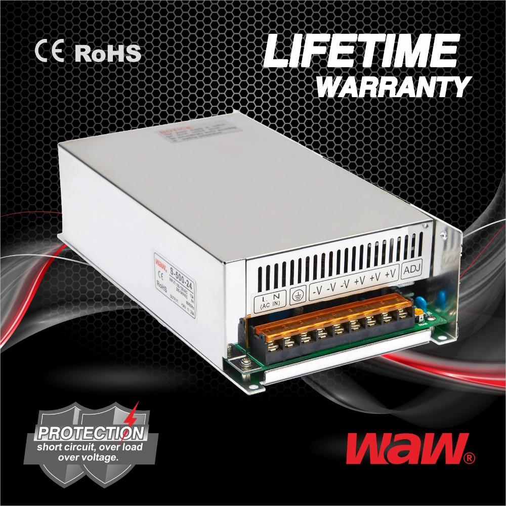 Hot sell 41.5a 12v 500w S-500 switching power supply christmas light power supply with CE ROHS approved