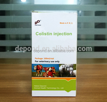 veterinary medicine manufacturing companies colistin injection