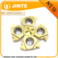 carbide turning tool Carbide Thread inserts 27ER 4 API504 ACME from china manufacturer zcc.ct