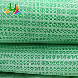 100% high quality polyester tricot water proof mesh fabric for bedding