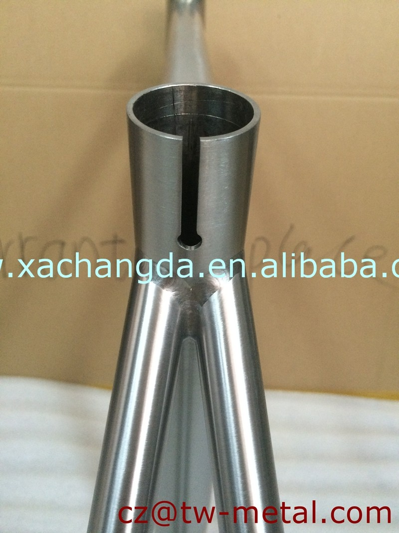 Customized Titanium track bicycle frame with taper head tube Ti track bike frame custom single speed bike frame