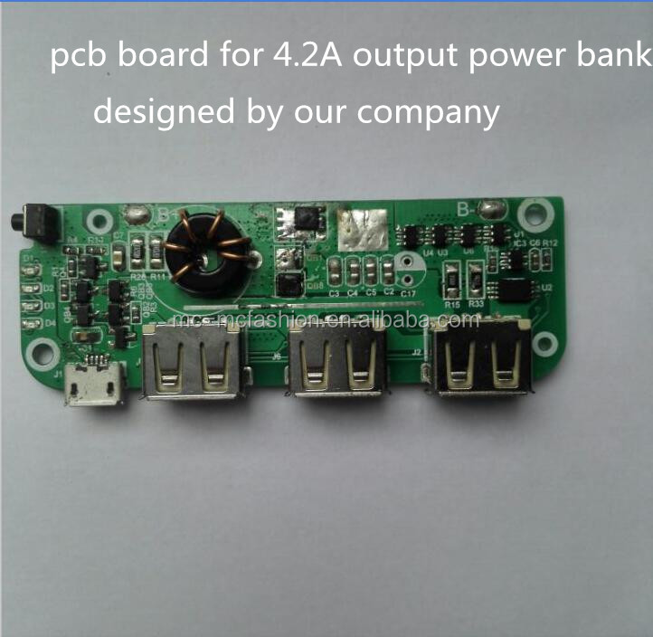 Customized FR-4 PCB/PCBA/printed circuit board assembly for power bank