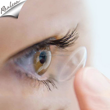 Big Eye Disposable Transparent Contact Eyes Lenses
