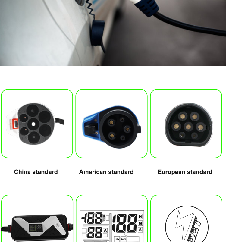 High-quality manufacturers prices cable EV quick charger