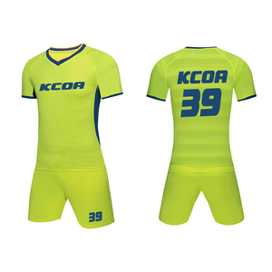 5d8e12db7c1 Wholesale thai 100% polyester cheap soccer jersey made in china custom team football  uniform football