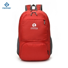 Special Waterproof Polyester Book Economic Cheaper Foldable Bright Color Sport Backpack