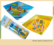 Promotional stunt kite with thread