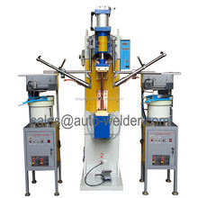 Automatic Nuts Feeder and Automatic Nuts Welding Machine