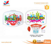 Hot outdoor sport basketball hoop for kids wholesale toy basketball set