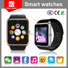 made in china high quality gt08 smart watch with sim card cheap price smart watch phone for htc, lg, samsung, iphone