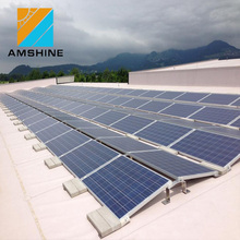 Flat roof PV Solar mounting System,Solar Adjustable Roof Mount System