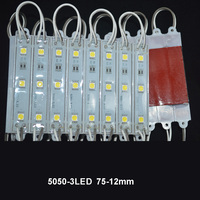 CE/Rohs DC12V 0.72W Waterproof 3 Chips 5050 LED SMD Sign Module